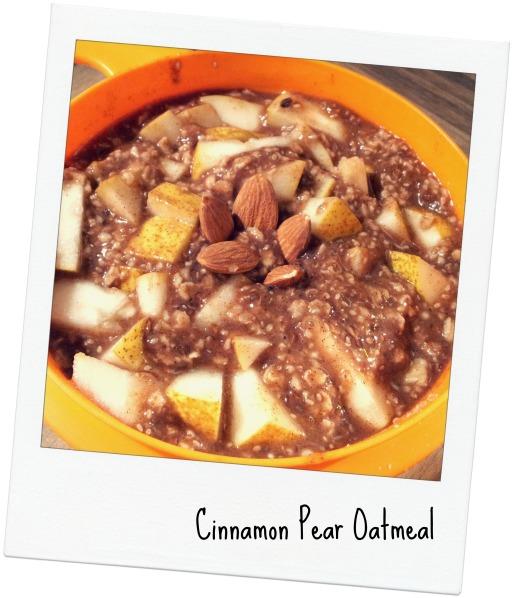 pear oats