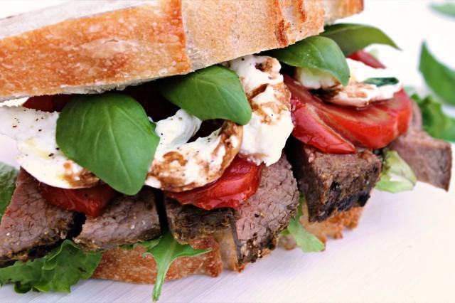 Caprese Beef Sandwich II